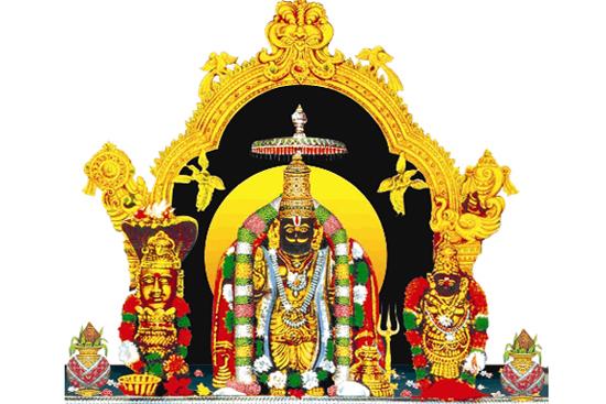 సువర్ణ శోభితం... సత్యదేవుని ఆలయం